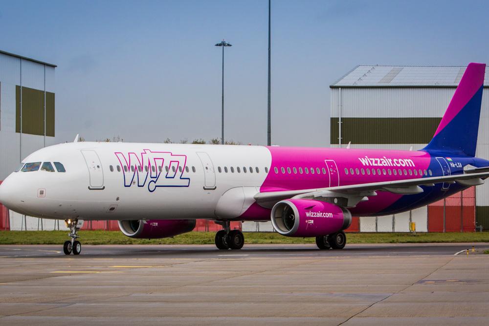 Wizz Air a321 aircraft