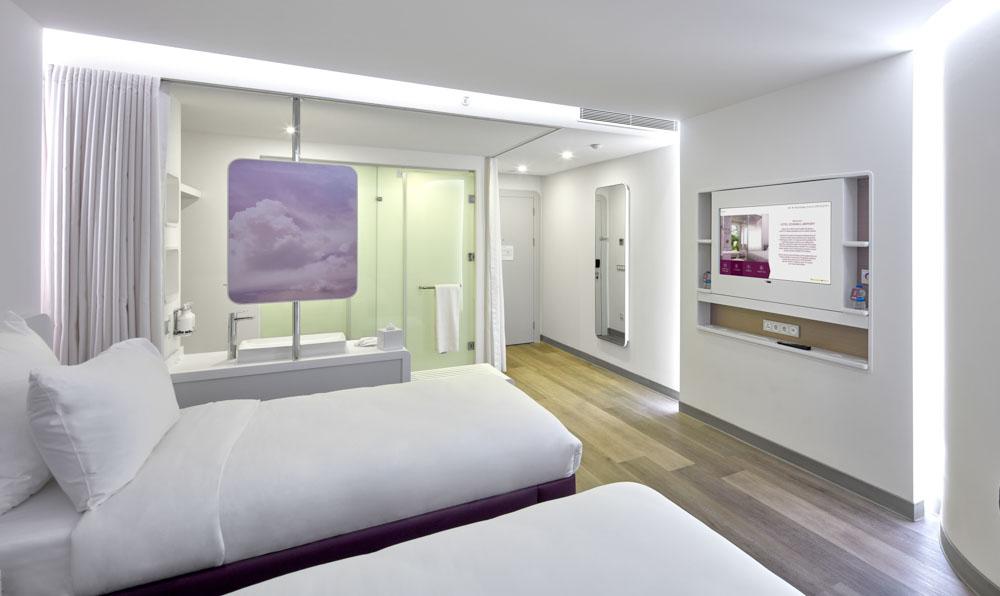 YotelAir big room in Instanbul