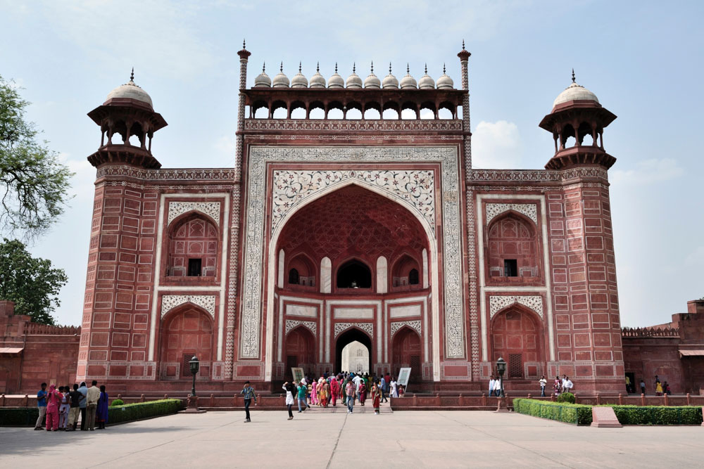 Fort in Agra, India