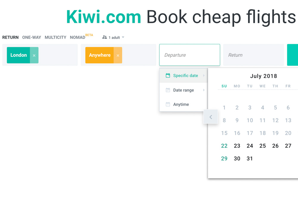 Kiwi.com - Best deals on flights
