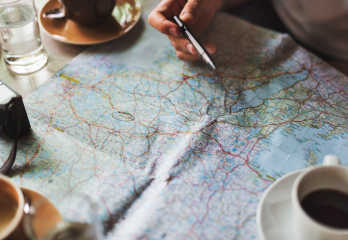 Map - Pre travel checklist
