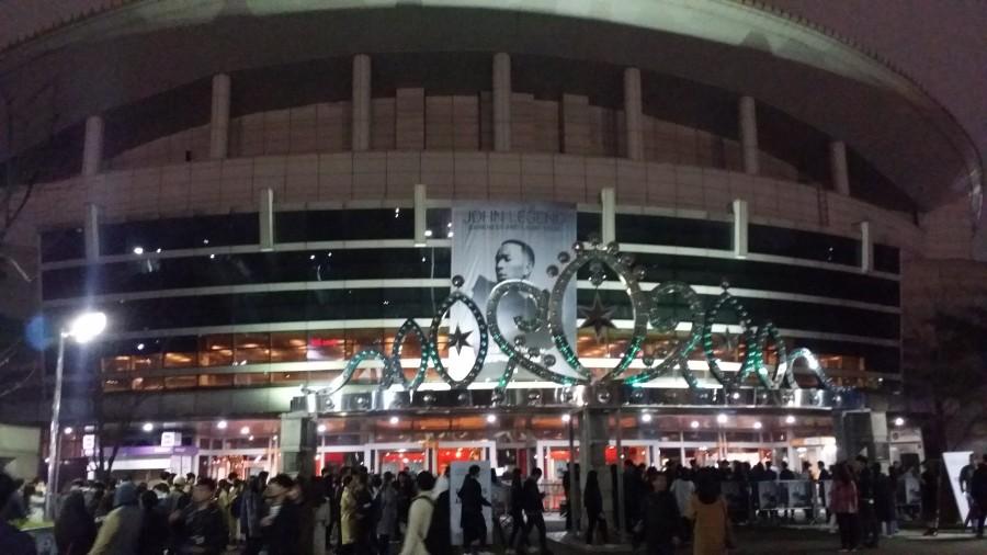 존 레전드 내한 공연 - 올림픽경기장 올림픽홀