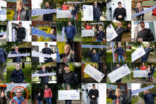 AXA Community Hero collage