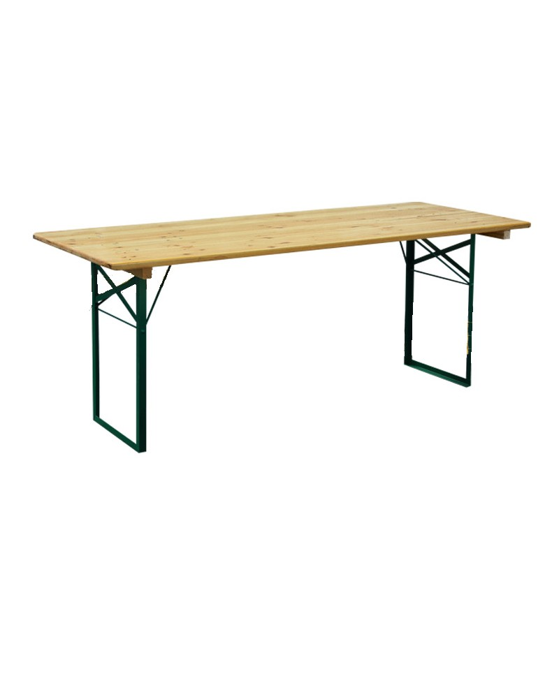 Table kermesse 200 x 80 cm