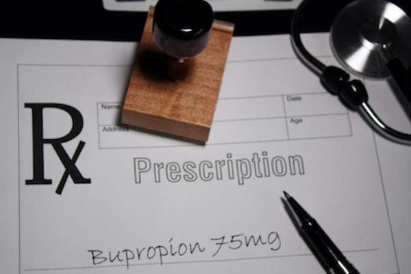 Prescription for Bupropion