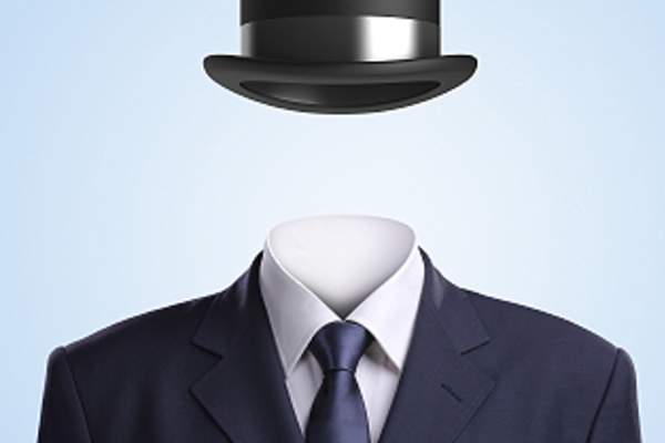 Bowler hat and suit