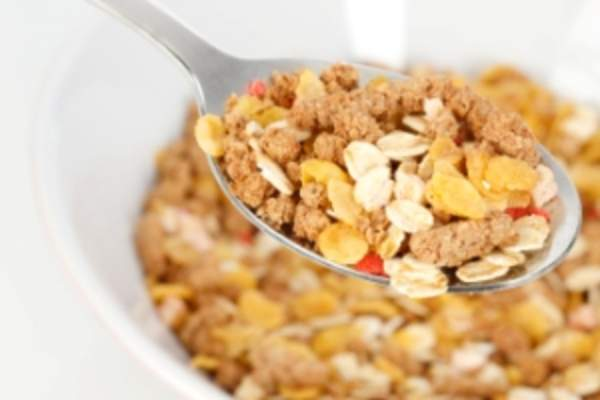Whole grain cold cereal.