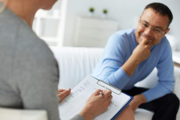 Cognitive behavioral therapists work to help you find ways to change your thinking patterns.