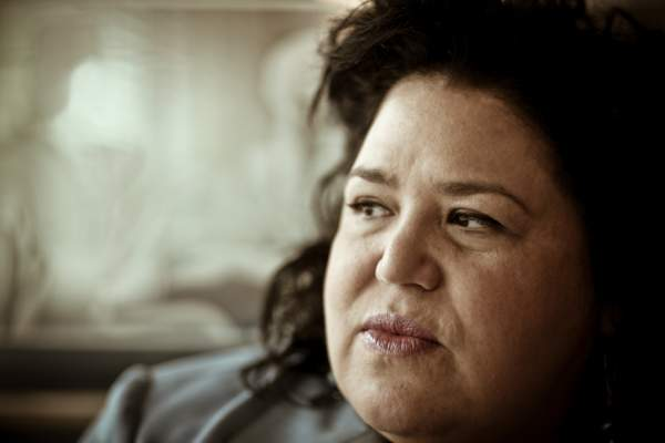 Older Hispanic woman with depression image.