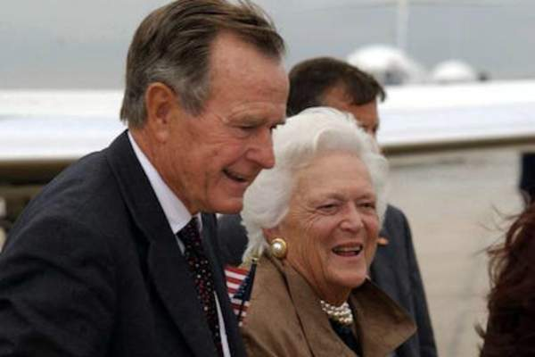 George H. W. Bush and Barbara Bush