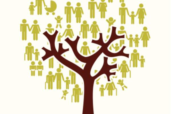 Family tree illustration.