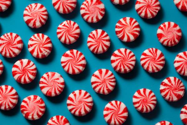Peppermint hard candy a natural nausea reducer.