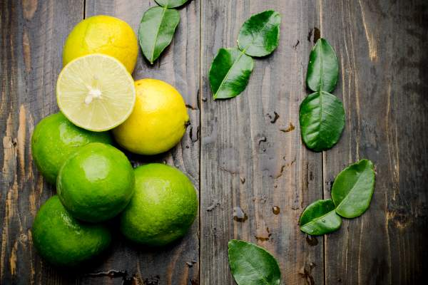 Lemons and limes.