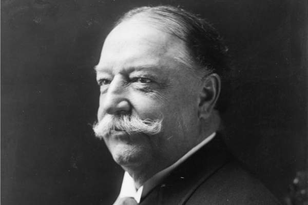 William Howard Taft, head-and-shoulders portrait.