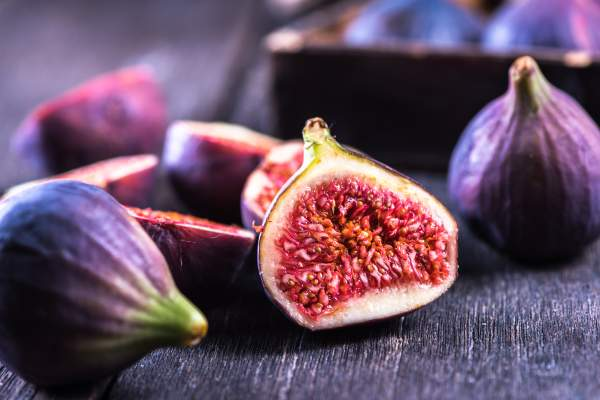 Sliced fig.