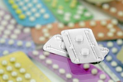 Pack of emergency contraceptive pills.