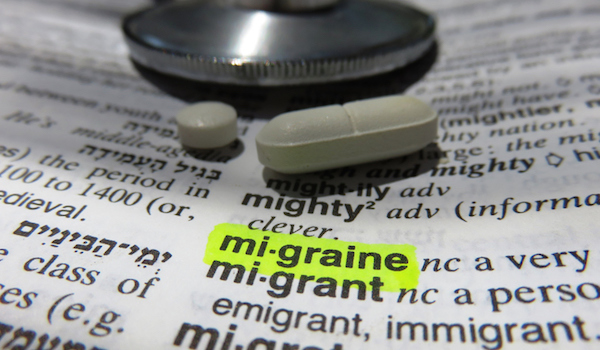 Migraine - dictionary definition