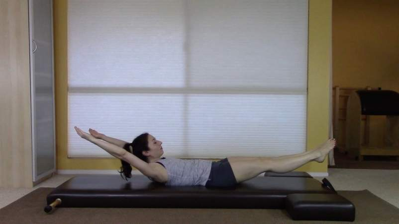 The Pilates Exercises That Improve Sleep-Double Leg Pull