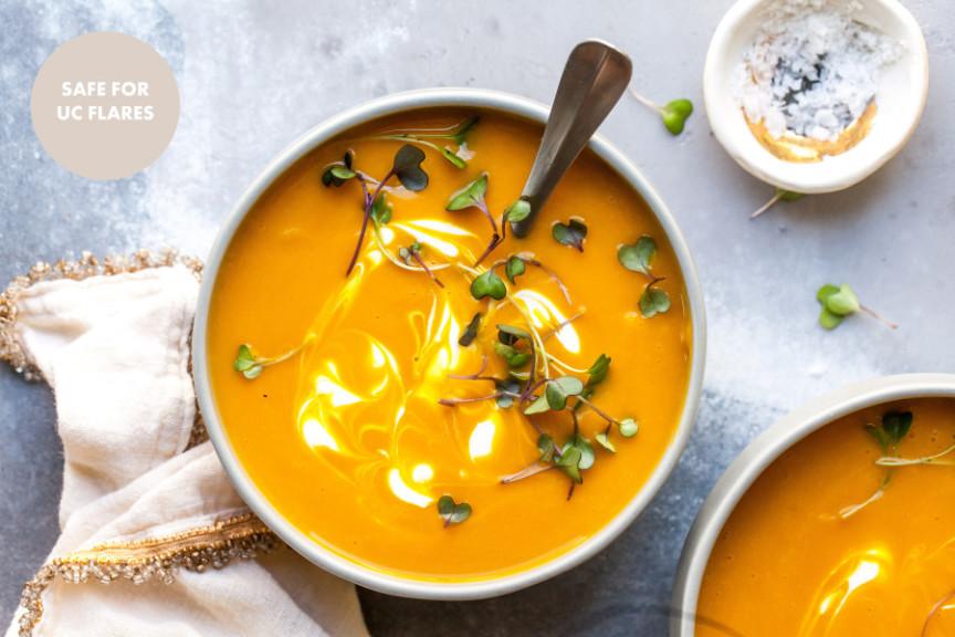Butternut Squash Soup With Lemongrass