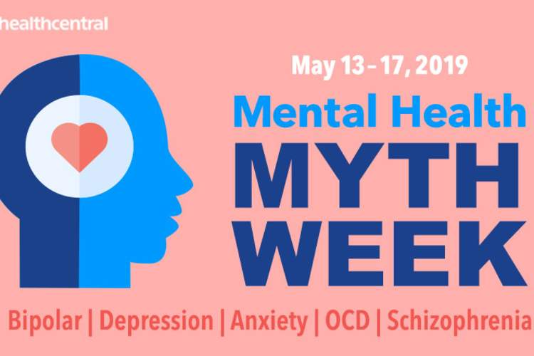 Mental Health Myth Week landing page graphic.