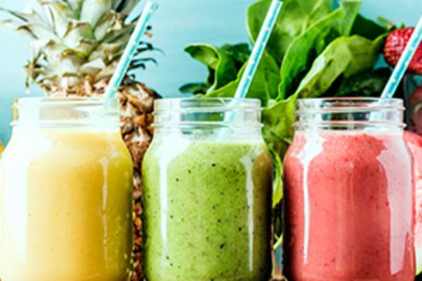 Various smoothies image.