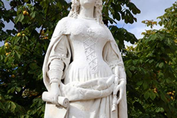 Anne of Austria statue.