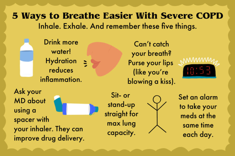 12 Ways to Breathe Easier Every Day With COPD