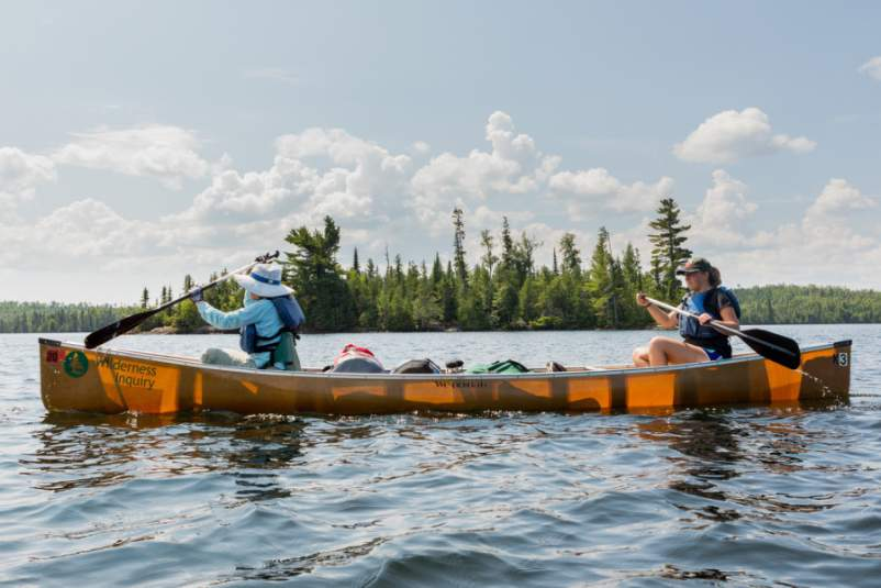 Wilderness Inquiry at Boundary Waters