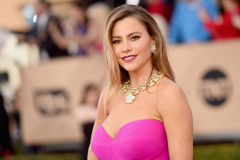 Actress Sofia Vergara attends The 22nd Annual Screen Actors Guild Awards at The Shrine Auditorium on January 30, 2016 in Los Angeles, California.