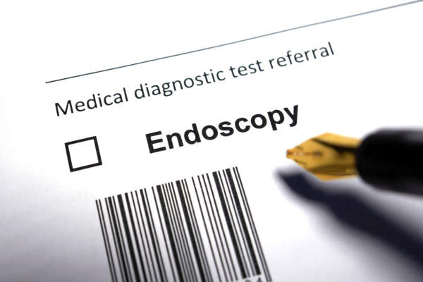Endoscopy referral from doctor.