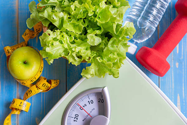 Nutrition, exercise, and weight loss.