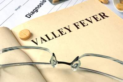 Valley fever, diagnosis.