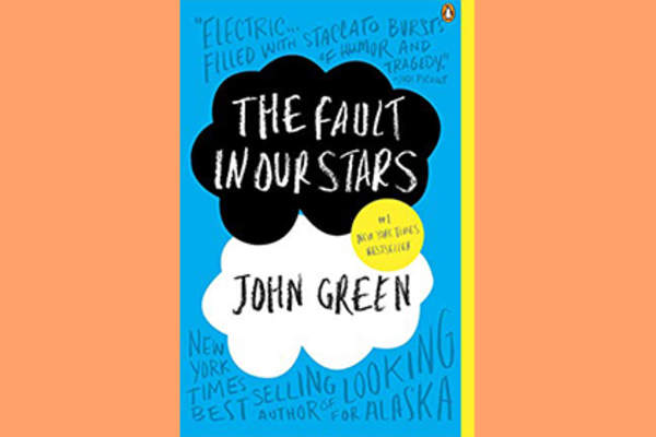 The Fault in Our Stars book cover.
