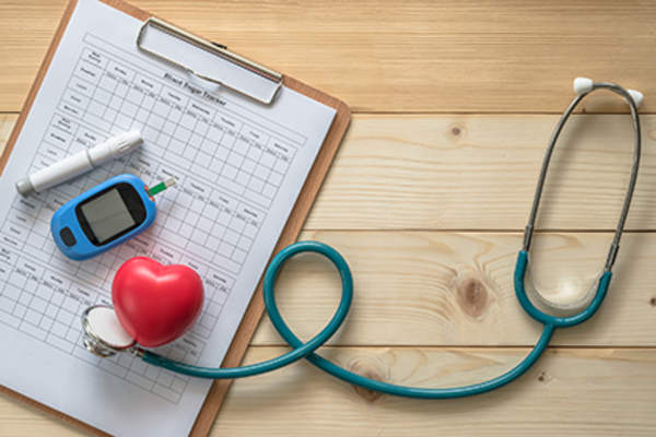 Diabetes and heart health.