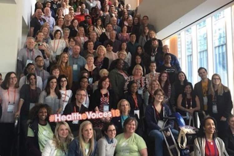 Some of the patient voices at HealtheVoices 2018.