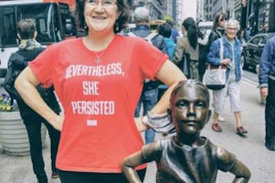 """'Nevertheless, She Persisted' is my philosophy regarding both my health and my life in general. I won't let RA win."" -Sandy"