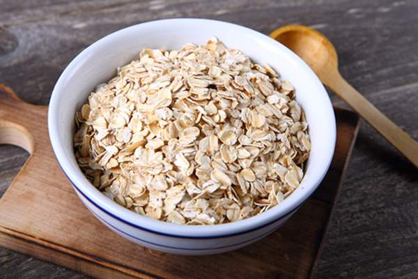 Bowl of oatmeal.