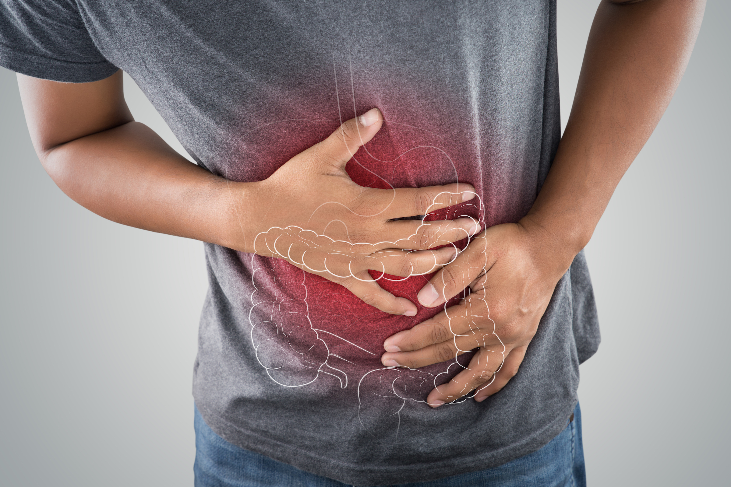 cancer abdominal pain colon