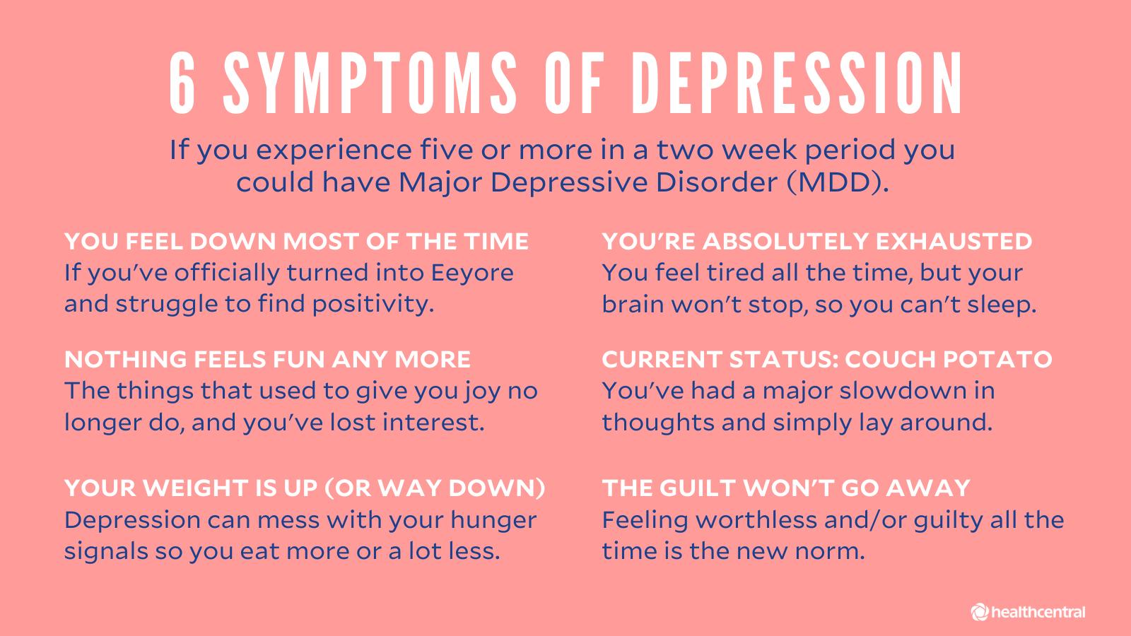 What do i do when im depressed