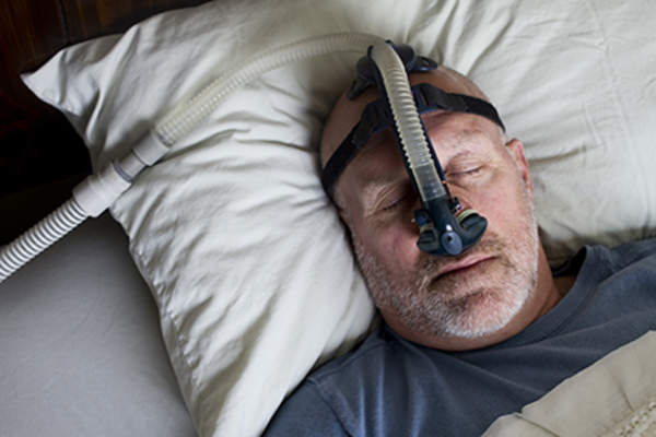 CPAP therapy.