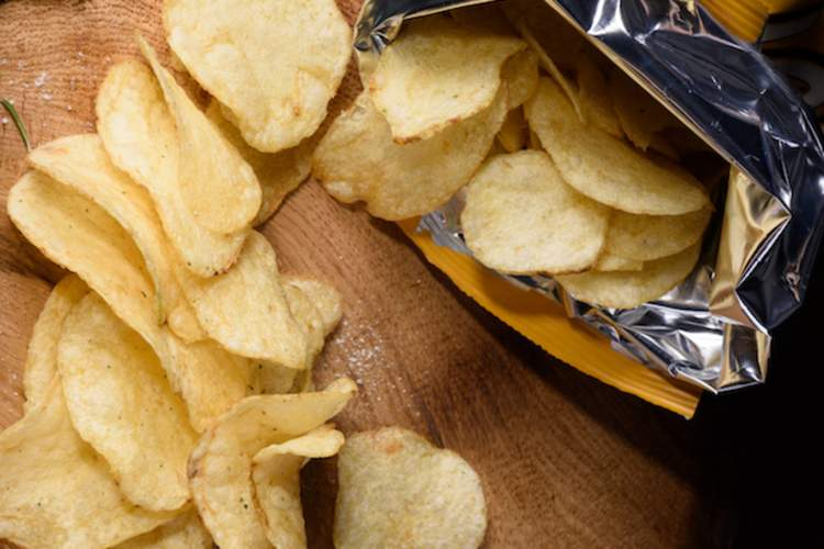 Foods like potato chips may have less sodium after new FDA guidelines.