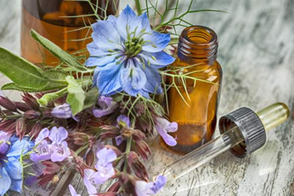 Herbal medicine essential oils