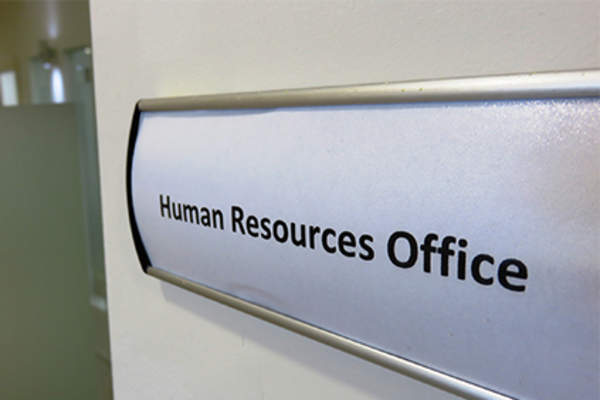 Door to human resource office.