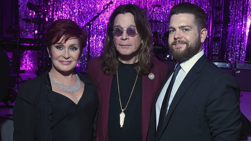 Sharon, Ozzy, and Jack Osbourne.