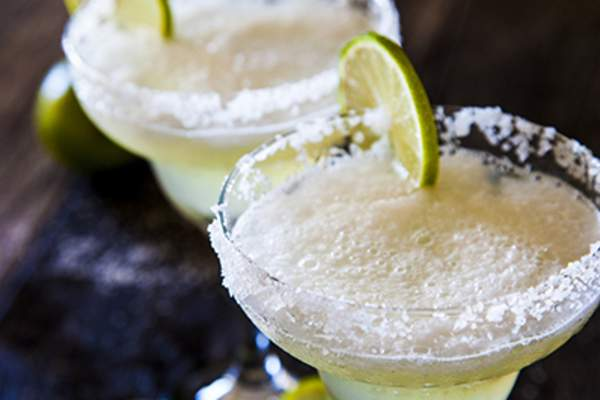 Margaritas and lime.