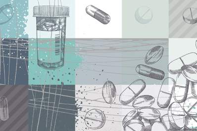 Medications illustration.