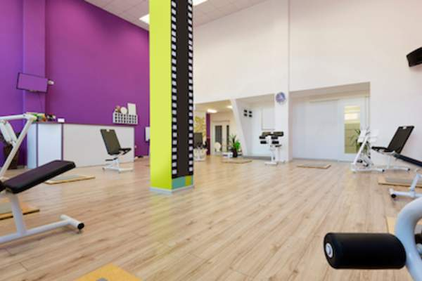 Fitness common area.