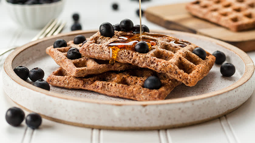 are waffles ok on a low acid diet