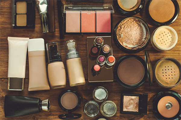 Makeup and cosmetics.