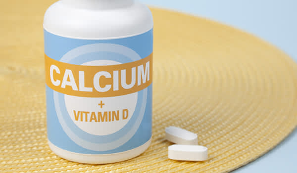 Calcium and vitamin D supplements.